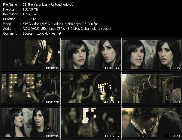 Veronicas HQ Videoclip «Untouched»