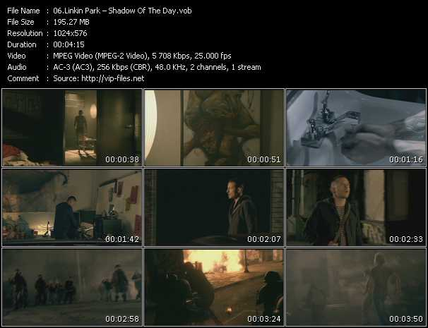 Linkin Park HQ Videoclip «Shadow Of The Day»