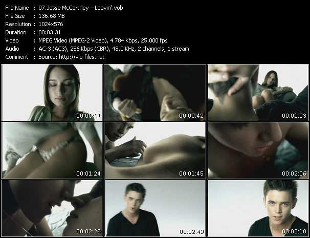 Jesse McCartney HQ Videoclip «Leavin'»