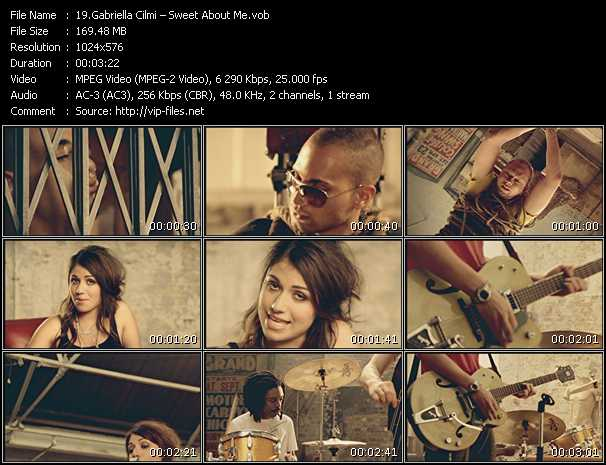 Gabriella Cilmi video - Sweet About Me