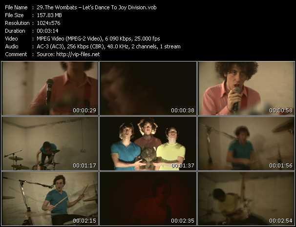 Wombats HQ Videoclip «Let's Dance To Joy Division»