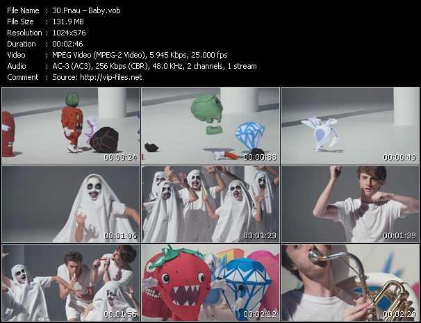 Pnau HQ Videoclip «Baby»