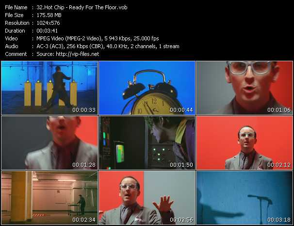 Hot Chip HQ Videoclip «Ready For The Floor»