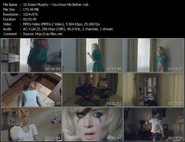 Roisin Murphy HQ Videoclip «You Know Me Better»
