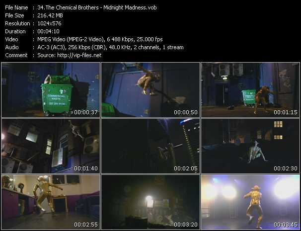 Chemical Brothers HQ Videoclip «Midnight Madness»