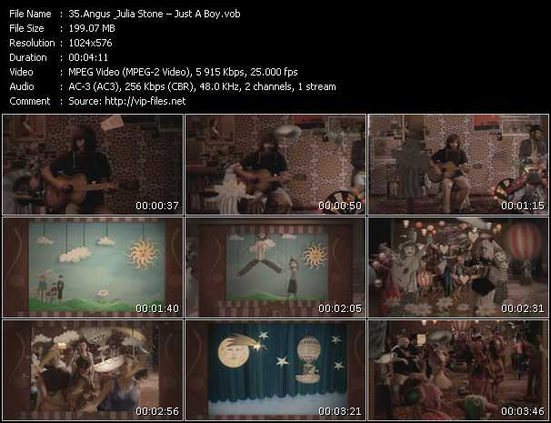 Angus And Julia Stone HQ Videoclip «Just A Boy»