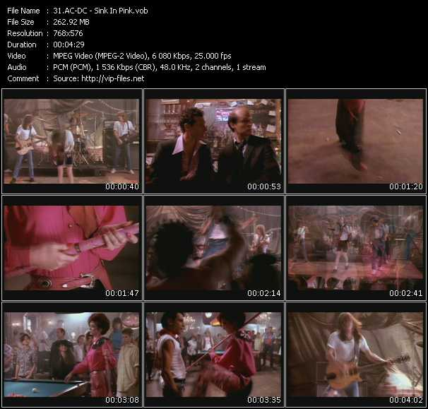 Ac-Dc video - Sink In Pink