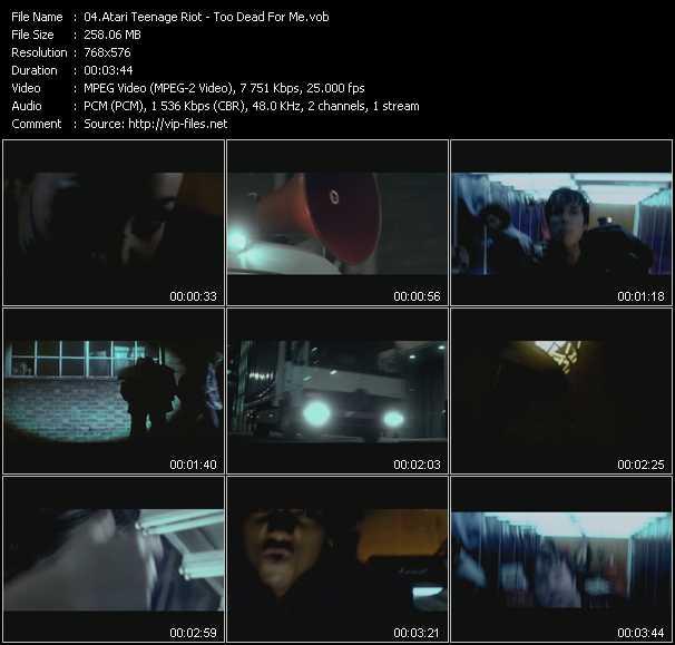 Atari Teenage Riot HQ Videoclip «Too Dead For Me»
