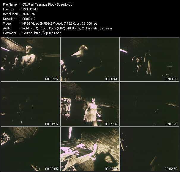 Atari Teenage Riot HQ Videoclip «Speed»