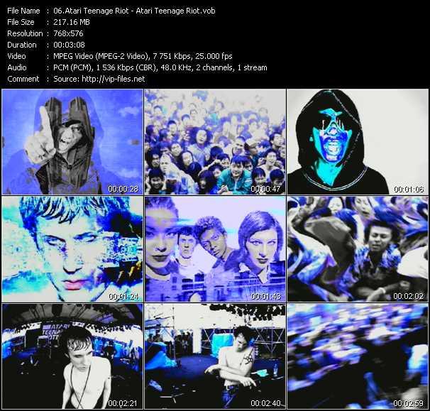 Atari Teenage Riot HQ Videoclip «Atari Teenage Riot»
