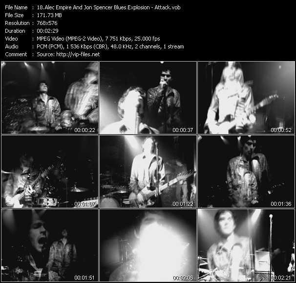 Alec Empire And Jon Spencer Blues Explosion HQ Videoclip «Attack»