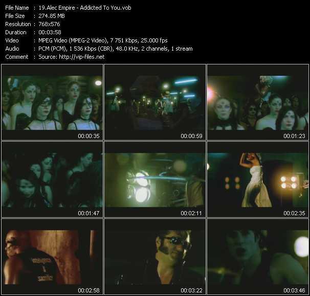 Alec Empire HQ Videoclip «Addicted To You»