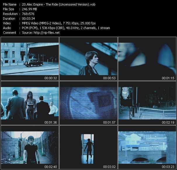 Alec Empire HQ Videoclip «The Ride (Uncensored Version)»
