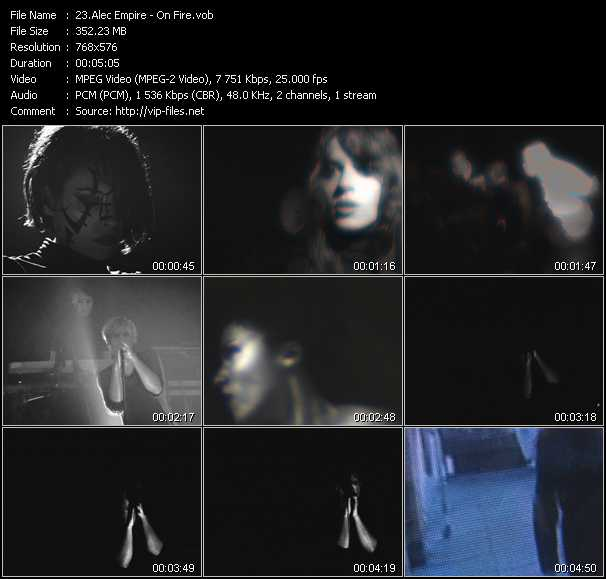 Alec Empire HQ Videoclip «On Fire»