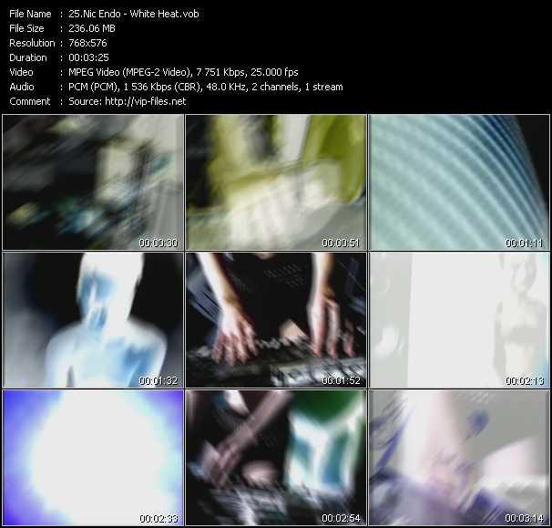 Nic Endo HQ Videoclip «White Heat»
