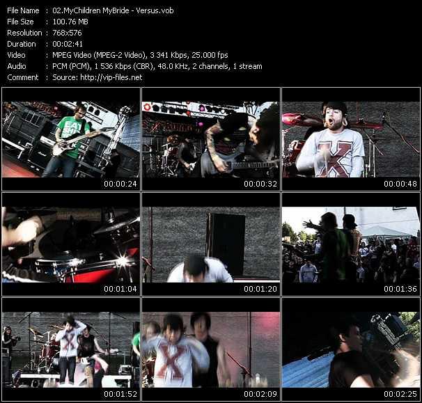 MyChildren MyBride HQ Videoclip «Versus»