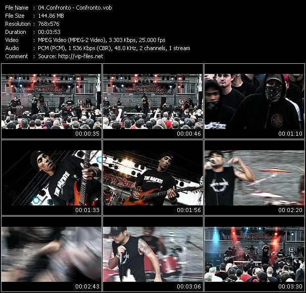 Confronto HQ Videoclip «Confronto»