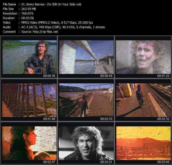 Jimmy Barnes HQ Videoclip «I'm Still On Your Side»