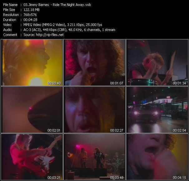 Jimmy Barnes HQ Videoclip «Ride The Night Away»