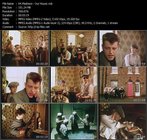 Madness HQ Videoclip «Our House»