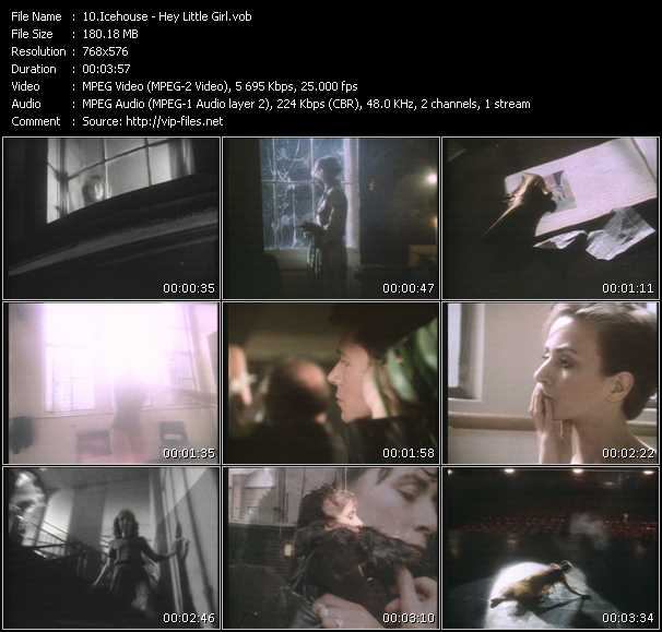 Icehouse HQ Videoclip «Hey Little Girl»