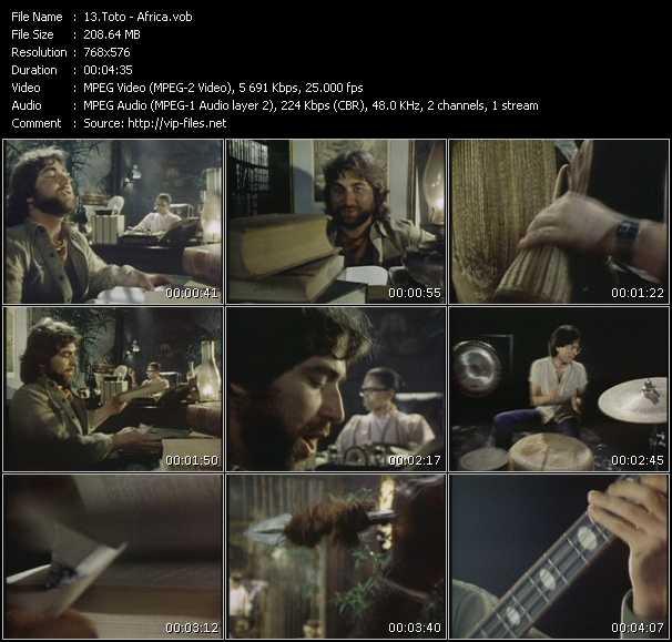 Toto HQ Videoclip «Africa»