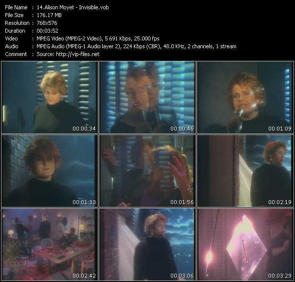 Alison Moyet HQ Videoclip «Invisible»