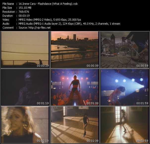 Irene Cara HQ Videoclip «Flashdance (What A Feeling)»