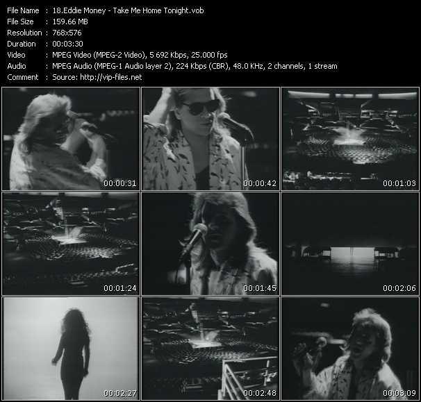 Eddie Money HQ Videoclip «Take Me Home Tonight»
