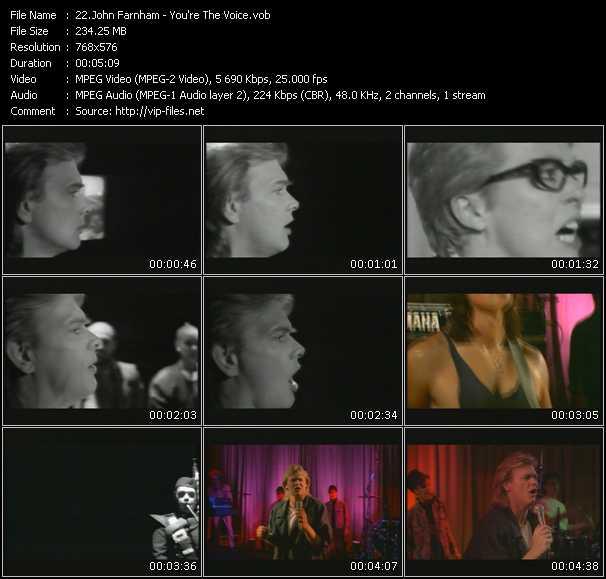 John Farnham HQ Videoclip «You're The Voice»