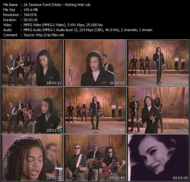 Terence Trent D'Arby HQ Videoclip «Wishing Weil»