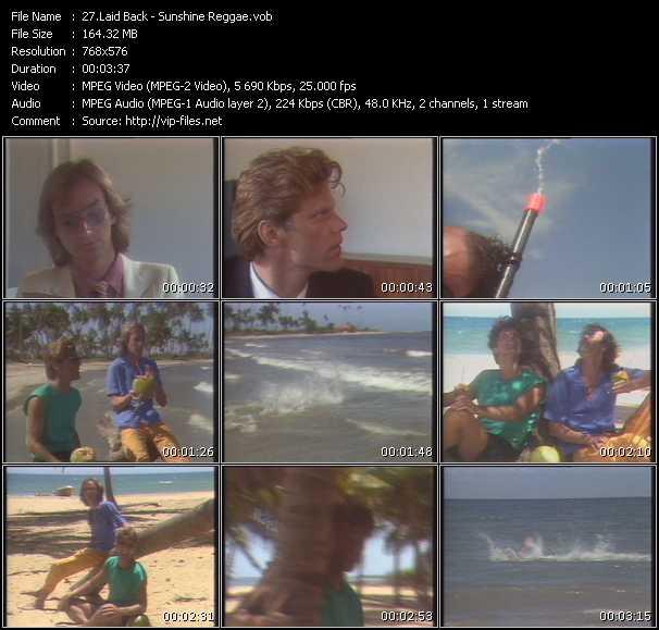 Laid Back HQ Videoclip «Sunshine Reggae»