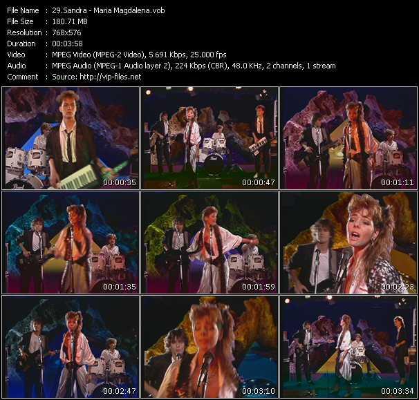 Sandra HQ Videoclip «Maria Magdalena»