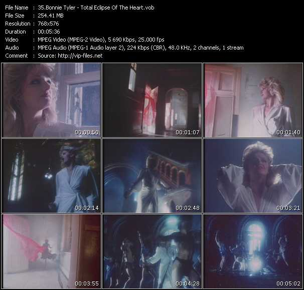 Bonnie Tyler HQ Videoclip «Total Eclipse Of The Heart»