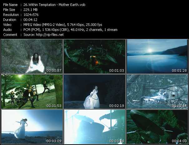 Within Temptation HQ Videoclip «Mother Earth»