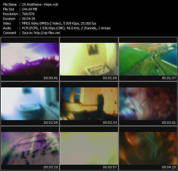 Anathema HQ Videoclip «Hope»