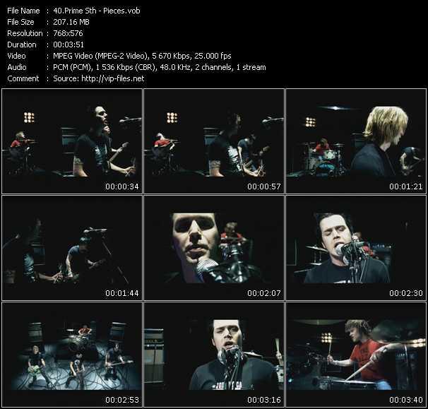 Prime Sth HQ Videoclip «Pieces»