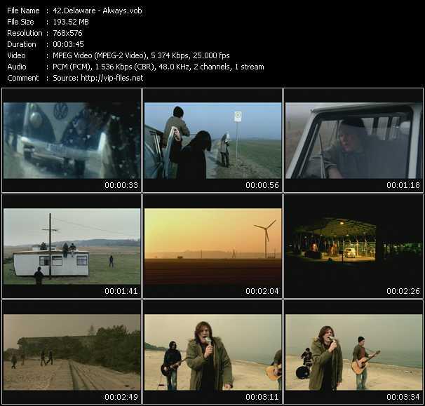 Delaware HQ Videoclip «Always»
