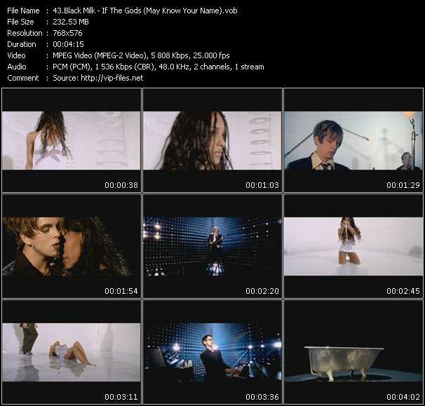 Black Milk HQ Videoclip «If The Gods (May Know Your Name)»