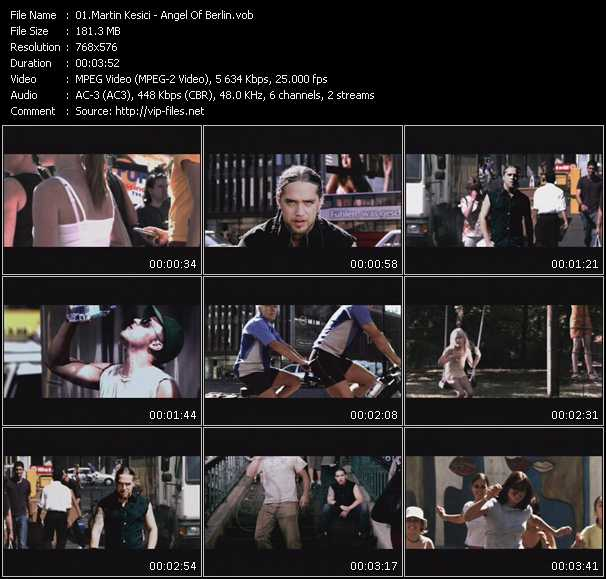 Martin Kesici HQ Videoclip «Angel Of Berlin»