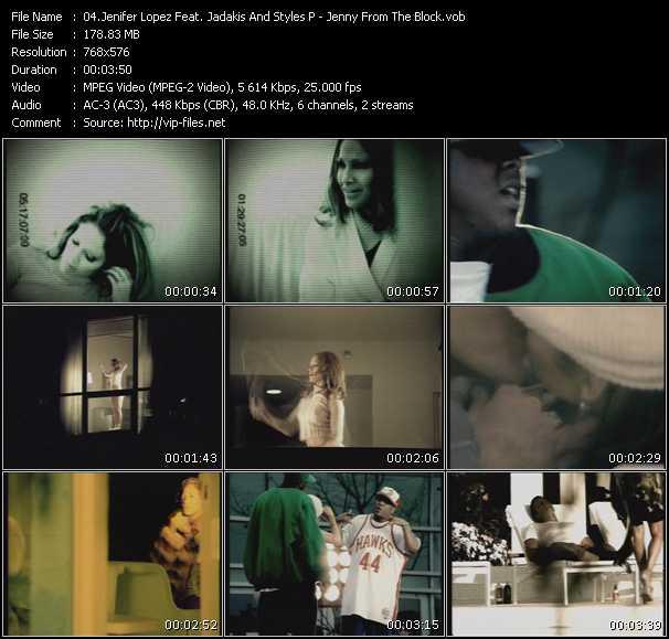 Jennifer Lopez Feat. Styles And Jadakiss HQ Videoclip «Jenny From The Block»