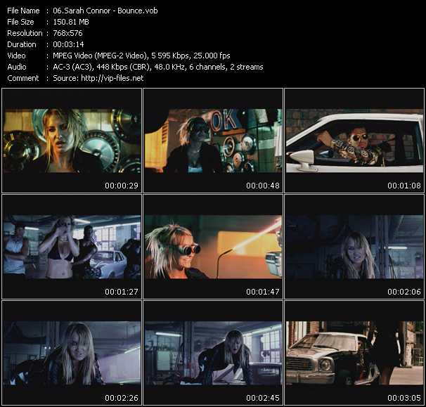 Sarah Connor HQ Videoclip «Bounce»