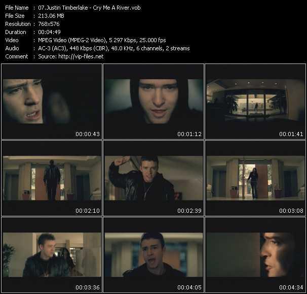 Justin Timberlake HQ Videoclip «Cry Me A River»