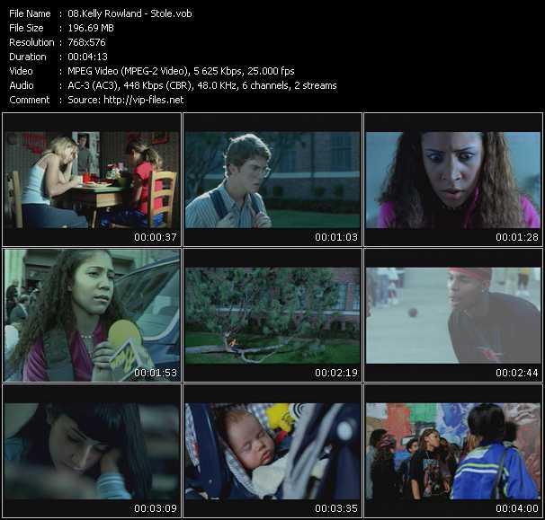 Kelly Rowland HQ Videoclip «Stole»