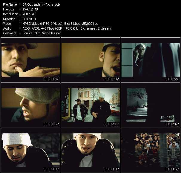 Outlandish HQ Videoclip «Aicha»