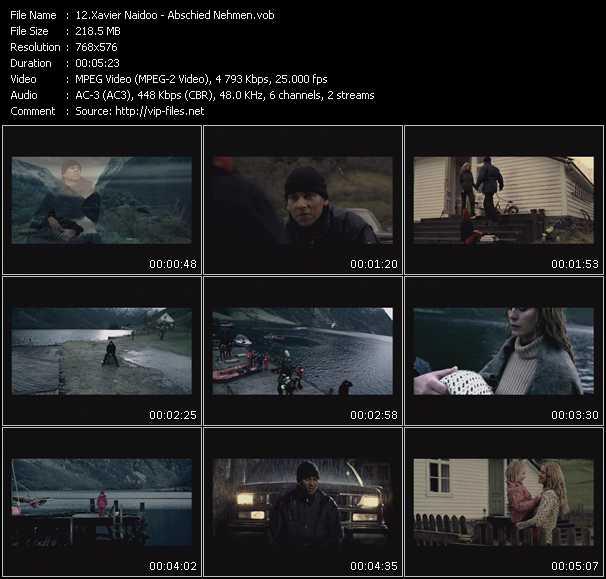 Xavier Naidoo HQ Videoclip «Abschied Nehmen»