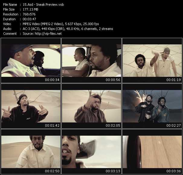 Asd HQ Videoclip «Sneak Preview»