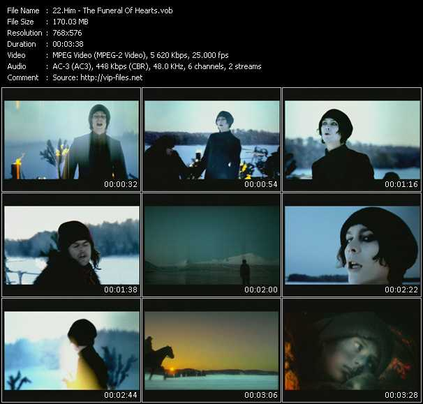 Him HQ Videoclip «The Funeral Of Hearts»
