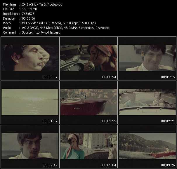 In-Grid HQ Videoclip «Tu Es Foutu»