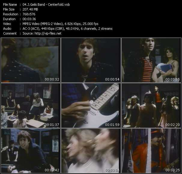 J. Geils Band music video Publish2